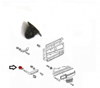 Upper Interior Door Pull Retaining Clip Backing 161867197 Mk1 Golf, Caddy, Jetta, Beetle